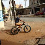 アフリカでファットバイク